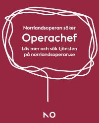 Norrlandsoperan söker ny operachef