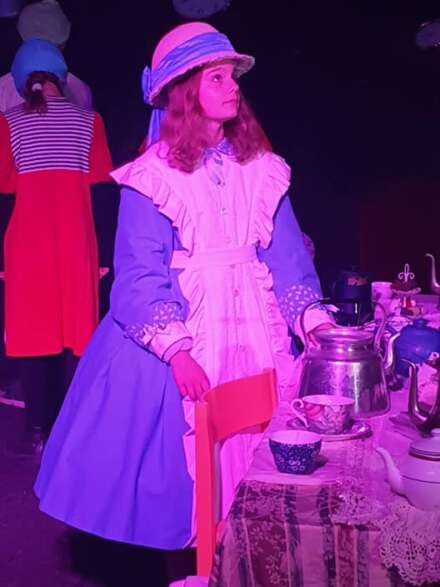 Alice i Underlandet i Tabergsgruvan